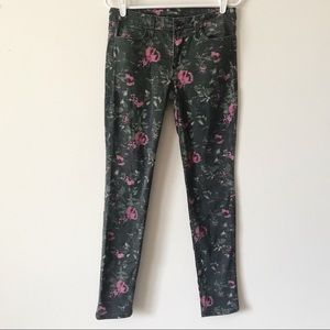 Joe's Jeans the Skinny in Electric Floral Print